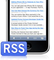 iPhone Entwickler Neuigkeiten nun per RSS